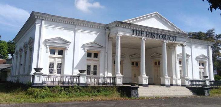 Gedung Historich Jalan Gatot Subroto, Kota Cimahi, merupakan salah satu bangunan heritage yang akan didaftarkan Pemkot Cimahi ke Kemendikbud. (Istimewa)