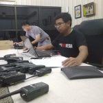 Handy talkie yang akan digunakan para PNS Kota Bekasi. (ist)