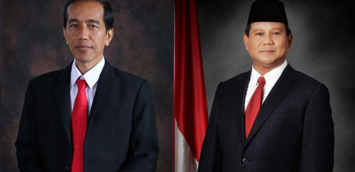 Ilustrasi Jokowi dan Prabowo