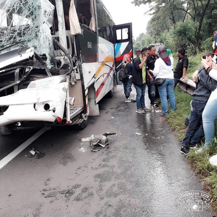Innalillahi, Kecelakaan di Tol Cipularang Purwakarta, Ini Kronologisnya