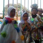 Jelang Ramadan 2019, Siswa TK di Bandung Tampil Cantik Pakai Baju Recycle