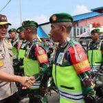 Kapolda Jabar saat peninjauan pasukan di Kabupaten Garut (ist)