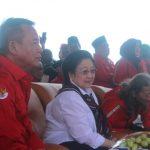 Kunjungan Megawati di indramayu
