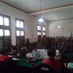 Mantan Kalapas Sukamiskin Wahid Husein menjalani sidang vonis di Pengadilan Tipikor Bandung (arif)