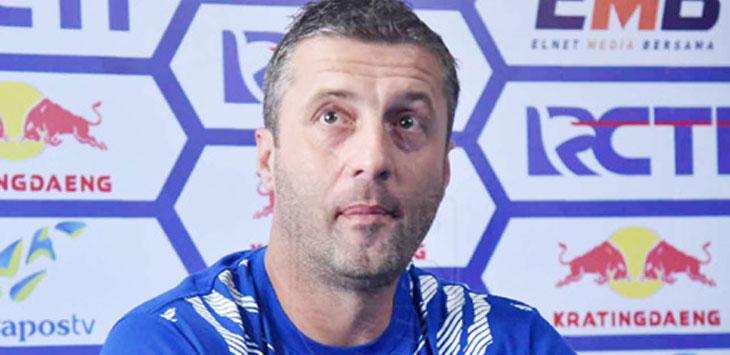 Miljan Radovic Pelatih Persib Bandung. (ist)