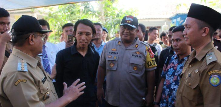 Muspida plus Kabupaten Indramayu cek kesiapan TPS. Yanto/pojokjabar l