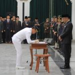 Pelantikan Walikota dan Wakil Walikota Bogor oleh Gubernur Jabar (ist)