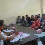 Rakor Bawaslu di sekretariat Majalengka untuk pelatihan para saksi di tingkat kecamatan