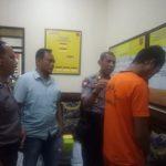 petugas Polsekta Majalengka mengamankan pelaku pencurian motor