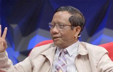 Mahfud MD, mantan Ketua MK