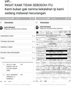 Salah input data rugikan pasangan Prabowo-Sandi (ist)