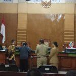 Sidang perdana tuntutan pemilik lahan R3 di PN Bogor Kota (adi)