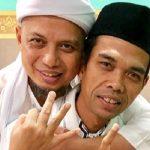 Ustad Arifin Ilham dan UAS yang mendukung Prabowo-Sandi (ist)