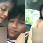 Sepepasang kekasih wik wik di mobil