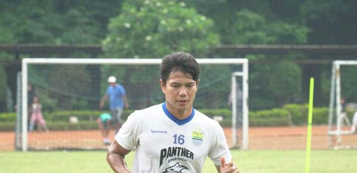 Bek Persib Bandung, Achmad Jufriyanto. Ist