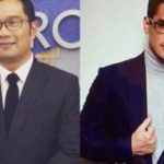 Afgansyah Reza dan Ridwan Kamil