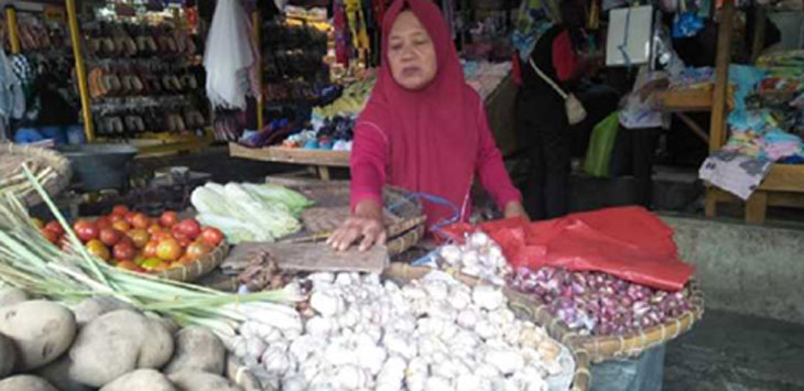 Penjual Bawang Putih