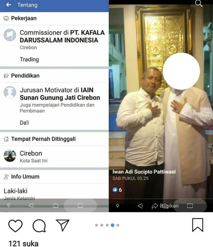 Berburu Identitas Iwan Adi Sucipto Pattiwael, Pria Penantang Kapolri