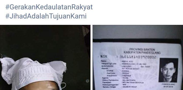 Foto Laskar FPI yang disebut meninggal saat rusuh dengan Brimob di kawasan Tanah Abang (ist)