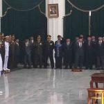 Gubernur Jabar Ridwan Kamil saat lantik Sunjaya-Imron