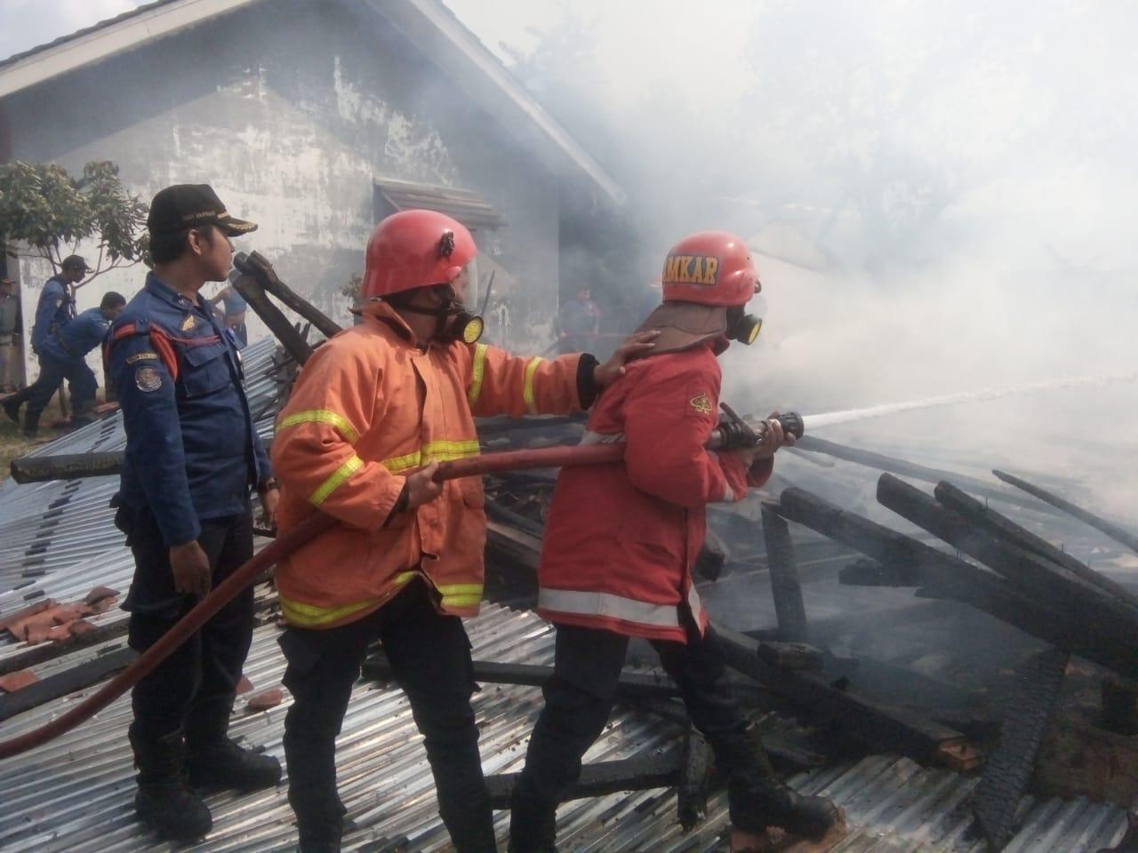 Ilustrasi kebakaran. (ist)