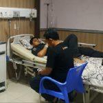 Intip Kondisi Ketua Bawaslu Kabupaten Sukabumi di RSUD Palabuhanratu