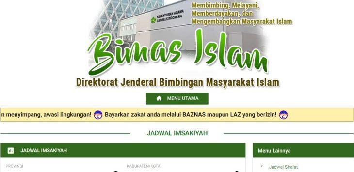 Jadwal Imsakiyah Jawa Barat./Foto: Istimewa