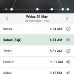 Jadwal Imsakiyah Kabupaten Purwakarta