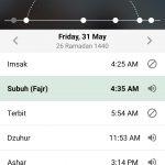Jadwal Imsakiyah Kota Bekasi
