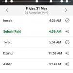 Jadwal Imsakiyah Kota Depok