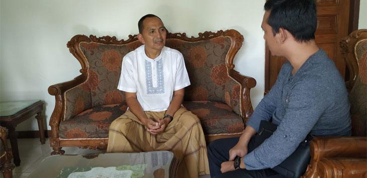 KH. Oni Gustam Effendi, Ketua Dewan Pembina Pusat Korp Relawan Mujahidin