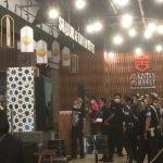 Kebakaran di restoran yang ada di dalam Komplek Mall PVJ Bandung, Sabtu (ist)