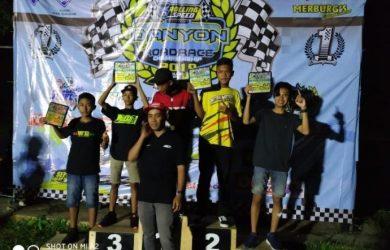 M. Abhipraya pada ajang Ramadhan Rolling Speed Danyon Open Road Race 2019