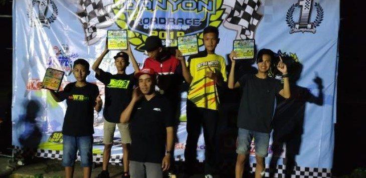 M. Abhipraya pada ajang Ramadhan Rolling Speed Danyon Open Road Race 2019, Minggu (19/5/2019)./Foto: Istimewa