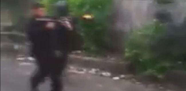 Oknum Brimob masuk ke Gang di Petamburan (rmol)