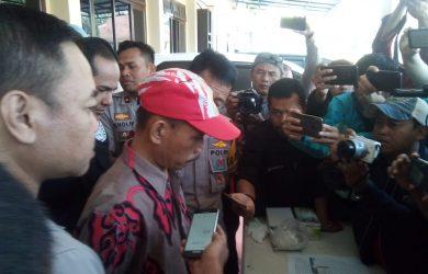 Pelaku penyebar ancaman bom di KPU diamankan di Garut (arif)
