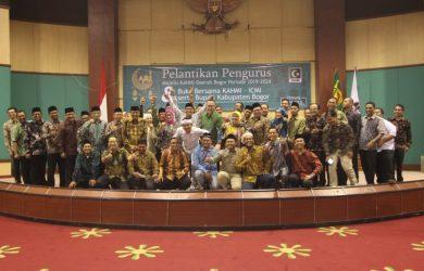 Pelantikan pengurus KAHMI Bogor 2019-2024 (ist)