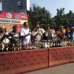 Pemusnahan Miras di Bandung