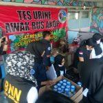 Polrestabes Bandung adakan tes urine