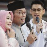 Ridwan Kamil mesra dengan istrinya