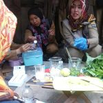 Sidak DP2KP Kota Cirebon di pasar tradisional. Yan/pojokjabar