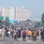 Suasana saat kerusuhan Jakarta (ist)