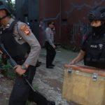 Terduga ISIS yang ditangkap Densus 88 di Nanggewer Kabupaten Bogor (rishad)