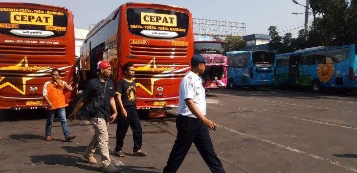 Terminal Cicaheum Bandung./Foto: Arief