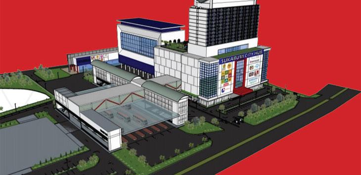Ilustrasi Terminal Terpadu Kota Sukabumi
