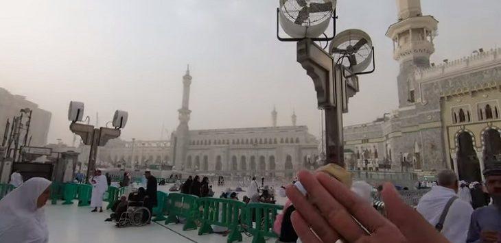 Bangunan baru Masjidil Haram./Foto: Istimewa