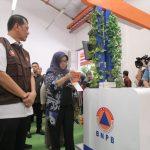 Bupati Bogor di acara membahas masalah bencana alam (rishad)