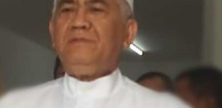 Caleg DPR RI dari Perindo, Engkus Kusnaya Budi Santoso, saat jumpa pers masalah jual beli suara di Pileg lalu dirinya mengaku menggelontorkan dana hampir 1 milyar untuk para penyelenggara Pemilu./Foto: Ega