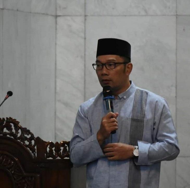 Gubernur Jawa Barat Ridwan Kamil