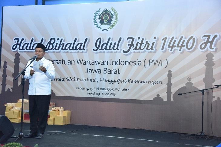 Halal Bihalal PWI Jawa Barat